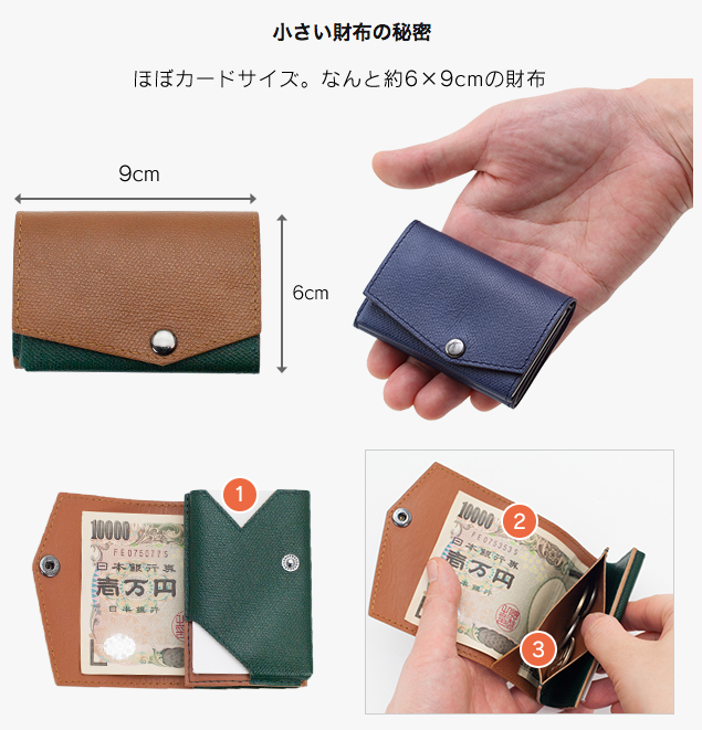 premium selection 04804 853de グッドデザイン賞受賞の大人気コンパクト財布『薄い財布』と ...
